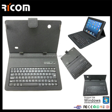 keyboard case with tablet battery,10 inch tablet keyboard case,10.1 inch tablet keyboard case--BK513--Shenzhen Ricom
