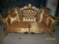 solid wood hand carved classical home furniture :sofa