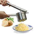 WB ZH004 Effective Manual Potato Mud Pressure Mud Machine Potato Masher Pressure Mashed Kitchen Gadgets Cooking Tools