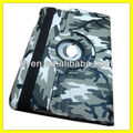Army Battle Fatigues Style 360 Rotating Leather for iPad Cases and Covers Magnetic Stand Manufacturer Wholesale