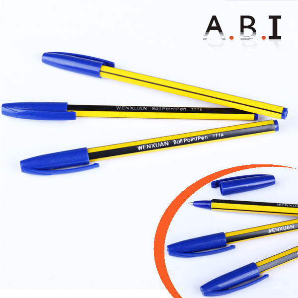 Wholesale back to school Plastic cheap ball point pen ball pen/cheap ballpen