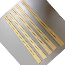 Eco-friendly full paper wrapped disposable bamboo genroku chopsticks