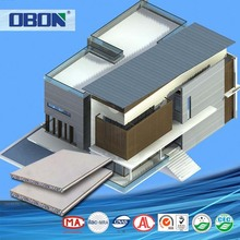 OBON fiber cement wall siding system earthquake resistant building materials fireproof light weight concrete wall panel