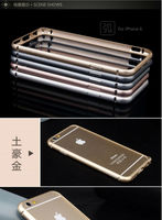 Luxury Metal Aluminum Frame Bumper For iPhone 6 Bumper Aluminum