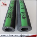 Four layer steel wire winding cloth surface EN856 4SP hydraulic hose