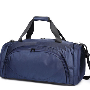 Wholesale private label travel duffel bag sport fitness bags, custom oxford fabric multi-pocket men gym bag with stock