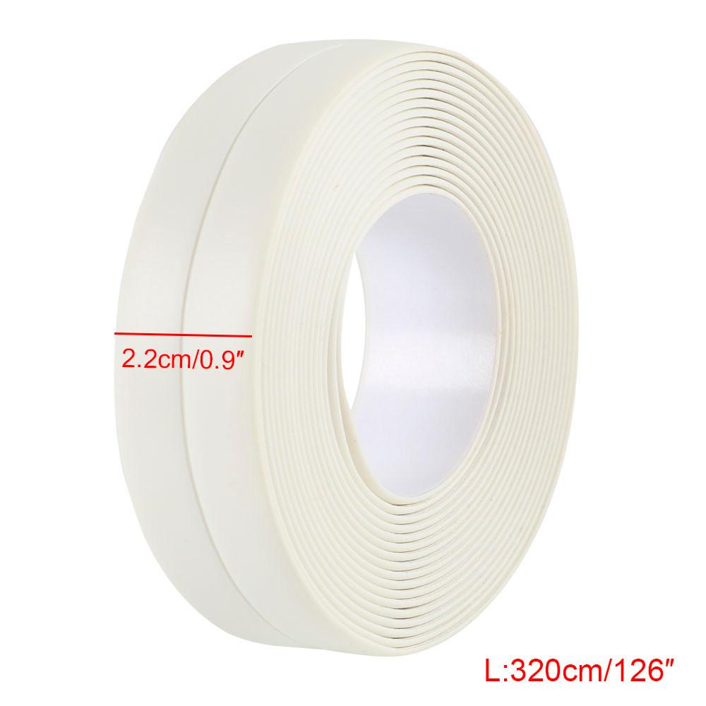 Corner Line Waterproof Tape Kitchen Bathroom Seams Protector Tub & Wall Caulk Strip Mildewproof Bump