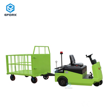 China Tow Truck Electric with 4 Rubber Wheels