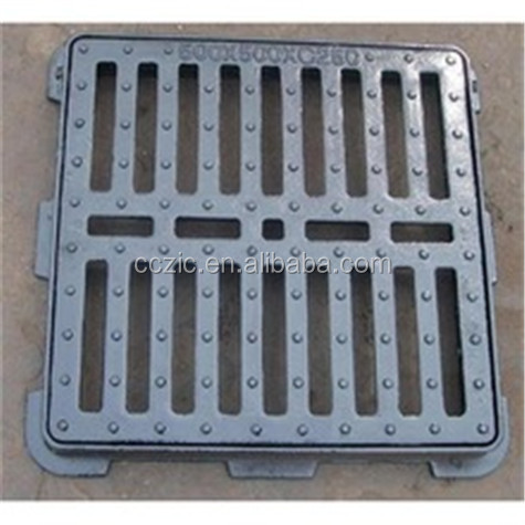 Ductile Cast <strong>Iron</strong> trench Drain Grating gully grate EN124 C250
