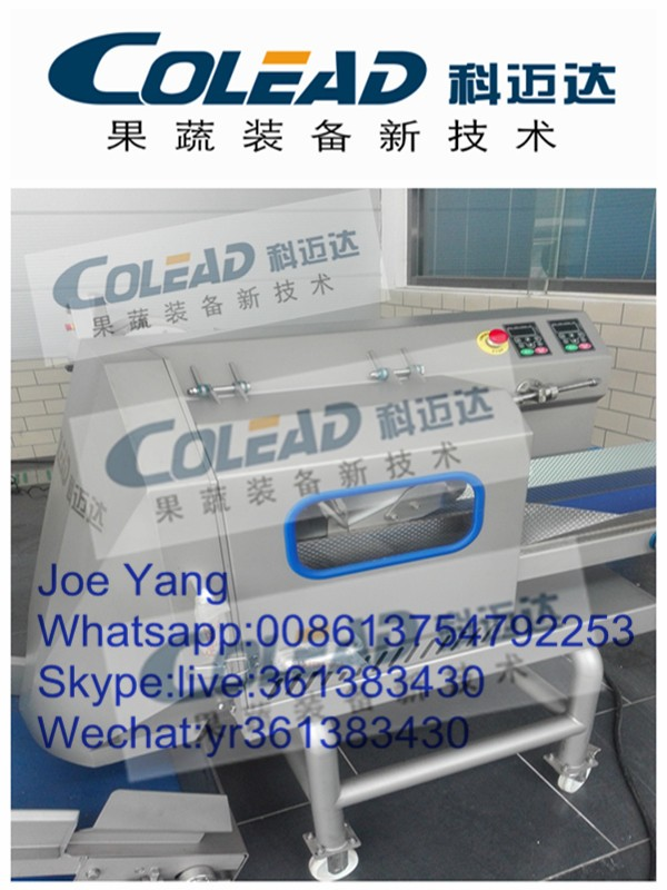 SUS 304 Cutting machines for frozen vegetables
