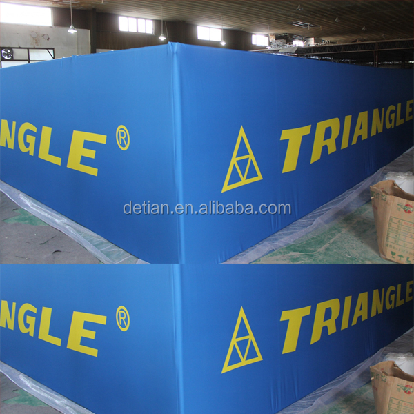 aluminum exhibition booth hanging banner, hanging sign, ceiling banner for booths