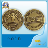 Wholesale Bronze Statue New Products Gold Coin