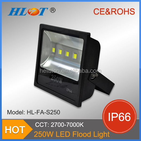 Newest product waterproof IP66 stadium lighting 200w 250w led floodlight