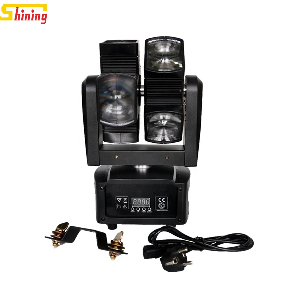 8 Lenses double wheel 8x10w 4-in-1 led <strong>beam</strong> moving head dj light