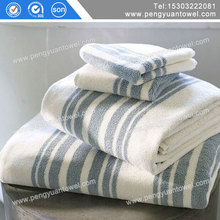 100 cotton yarn dyed small flower embroidery towels