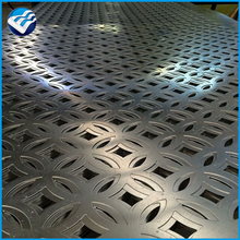 picture perforated aluminum exterior screen panel wall light