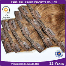 trading companies human wholesale Cheap Natural Russion Clip in Hair Extension