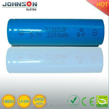the aa 3.7v an used torch light 18650lithium battery,china supplier