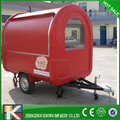 Popular mobile Fast Food Cart /fast food kiosk / fast food truck