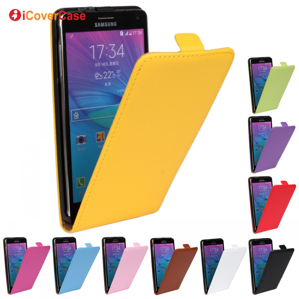 Hot Sale Phone Case Vertical Flip Leather Cover for Samsung Galaxy Note 2 3 4 5 Case Capa Coque Carcasa Capinhas