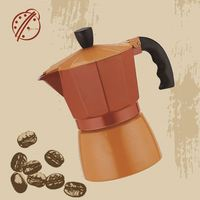 2015 ogniora aluminum korean coffee machine wholesale mr brown iced coffee