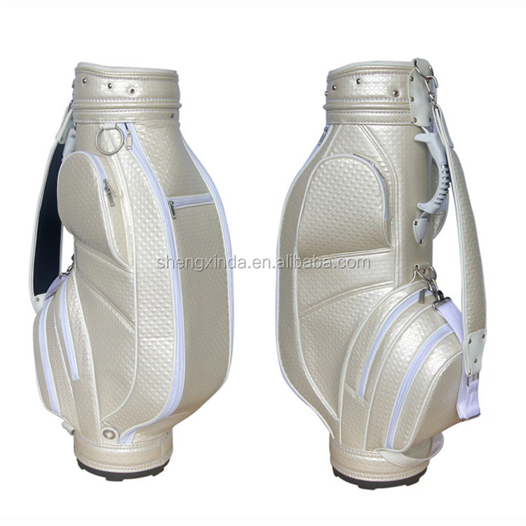 Pu Material GBS-09 New Design Lady Professional golf caddy bag