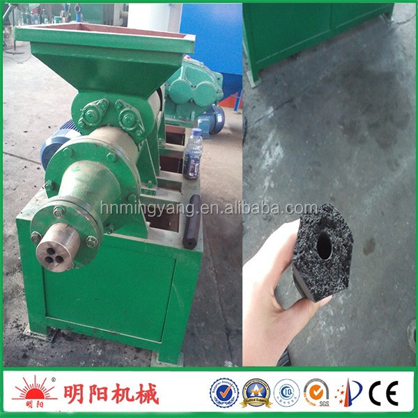 Mingyang factory supply coal rod extruder machine/biomass charcoal briquette making machine
