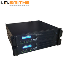 Professional sound system outdoor big power high quality audio power amplifier with dsp