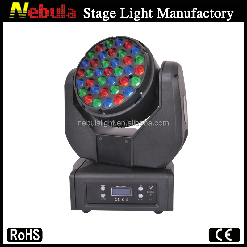 Beam moving head decorative mini led disco lighting equipment