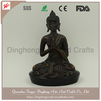 Resin Factory Decorative Manufacture Antique Bronze Buddha Statue