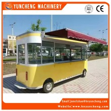 Factory Direct Sale Mobile Fryer Food Vending Cart Price