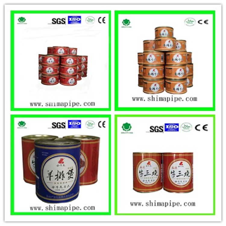 cheap and healthy halal canned duck meat food