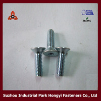 hex socket countersunk head binding post screws