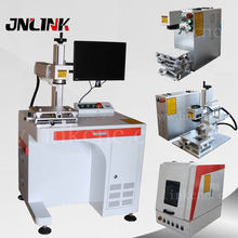 20W 30W laser engraving machine for steel, phone case printing machine, fiber laser marking machine