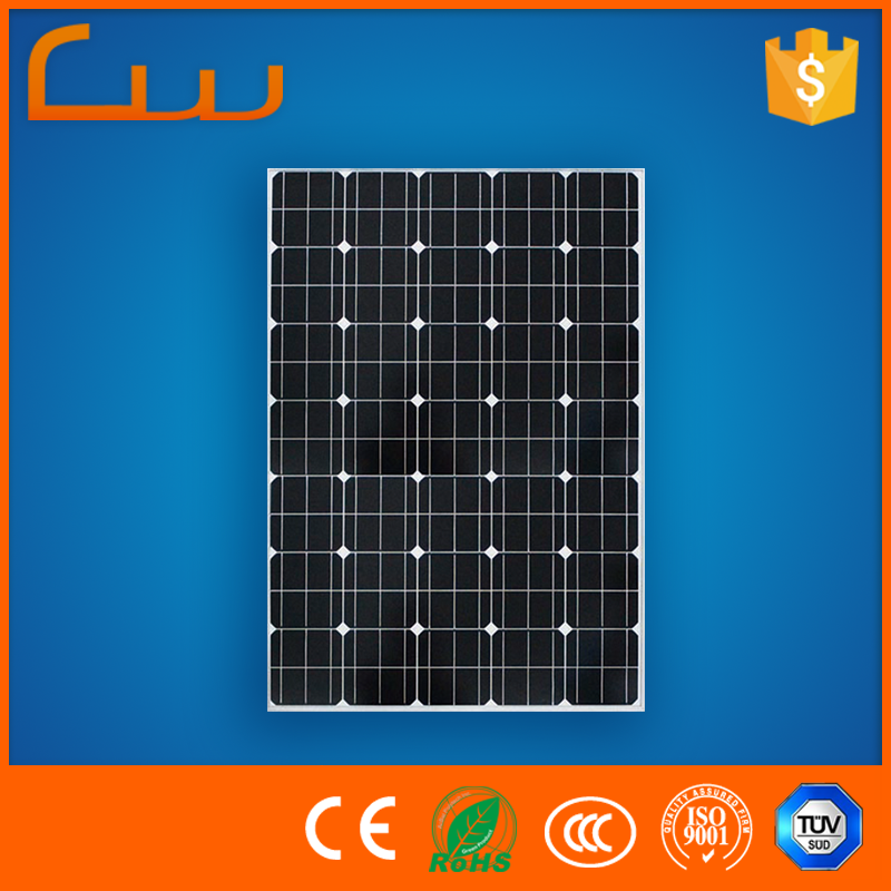 Chinese professional manufacturer 100w solar panel