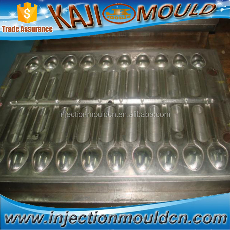 multi-cavity plastic injection spoon mold