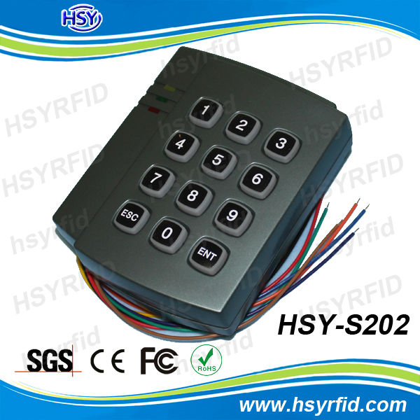 RFID standalone access controller keyboard smart card reader