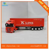Diecast miniature truck model 1:50