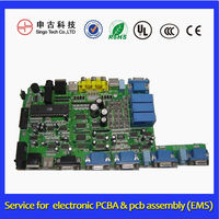 Multilayer PCB manufacture and assembly