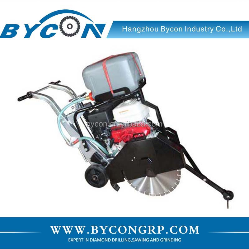 Bycon DFS-450D 13hp petrol surface concrete saw road cutter
