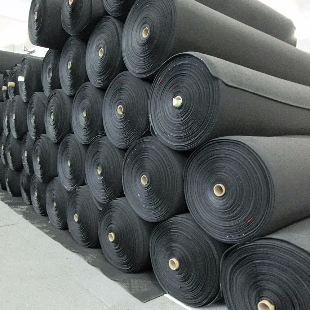 China Manufacturer Custom Anti Slip Neoprene Fabric Rubber Sheet For Diving