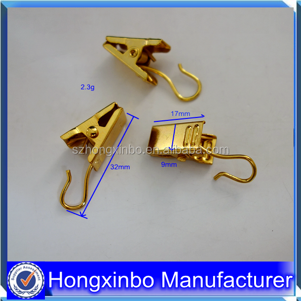 Hongxinbo factory cheap high qulity various small strong metal teeth clip