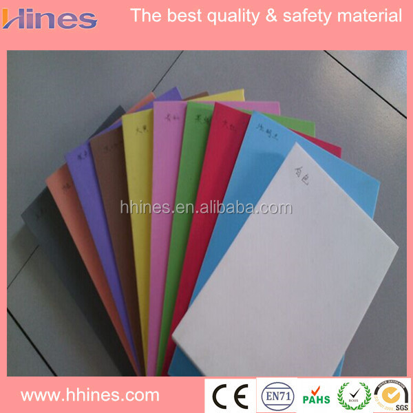 Bulk corrugated color eva foam sheet