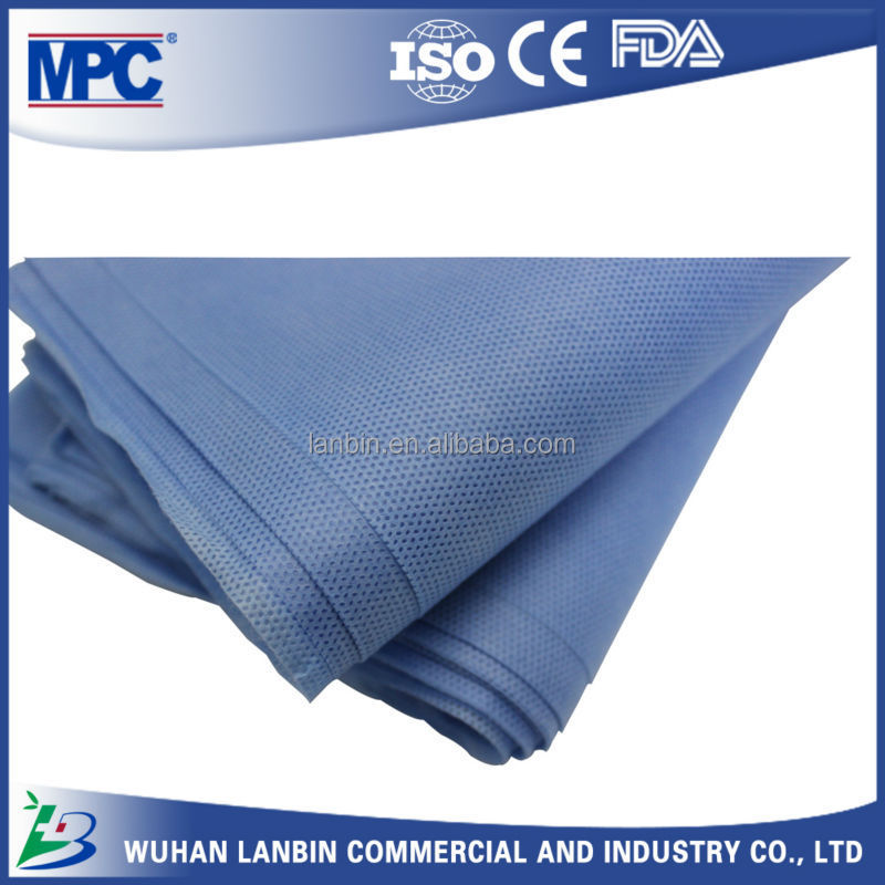 Blue sheets disposable medical expendable