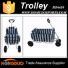 Collapsible aluminum material tools small cart