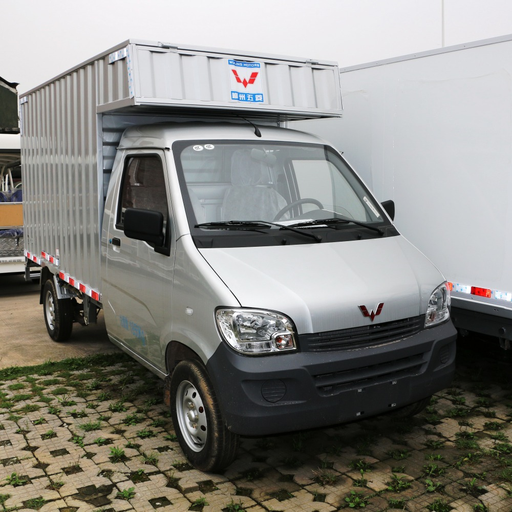 cheap Single-cabin cargo china mini container truck