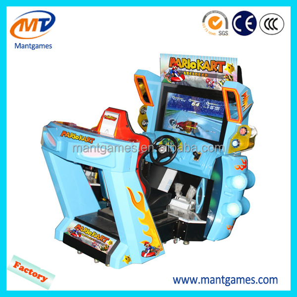Luxury Around the World arcade game machine, racing car simulator hot sale