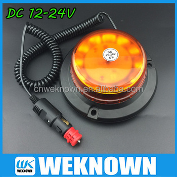 Strong magnet Warning beacons ,new model warning light, Revolving light with R65
