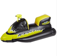new inflatable motorboat Squirter Float Pool Swimming Water Outdoor Games Wet Ski!!