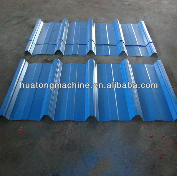 High rib roof panel roll forming machine